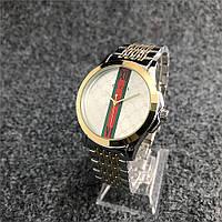 Наручные женские часы Gucci 6848ST Silver-Gold-Silver, фото 1