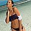Интересный купальник в кубинском стиле Marko M 519 ELENA. Много цветов, фото 2
