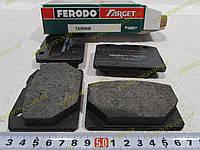 Колодки тормозные передние Ваз 2101,2102,2103,2104,2105,2106,2107 Ferodo FE TAR96 зеленые, фото 1
