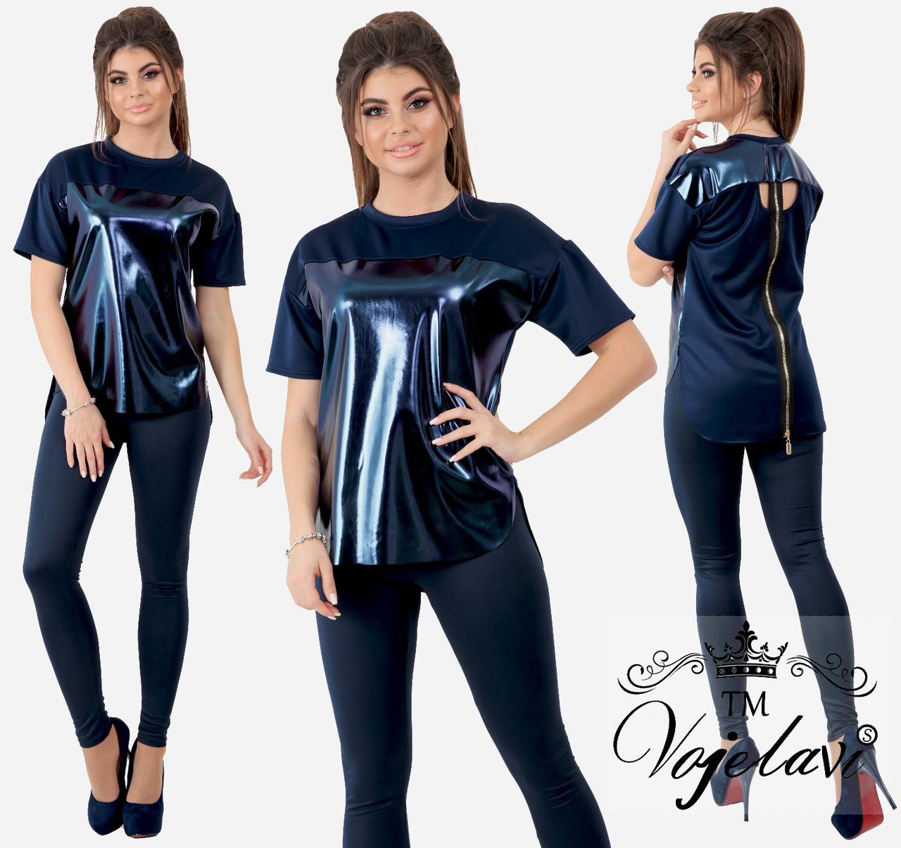 Женский стильный костюм  ОА707 (норма)