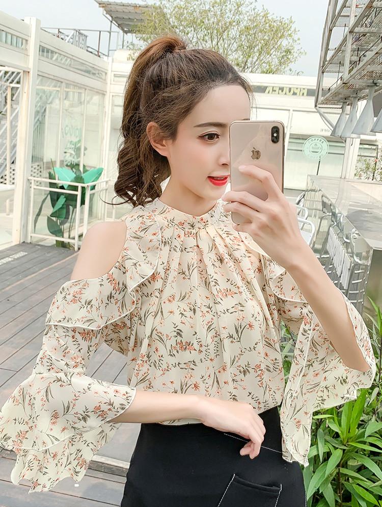 Нежная весенняя блузка 46-48