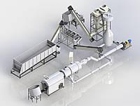 Комплект оборудования для производства топливных брикетов