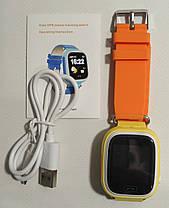 Дитячий смарт годинник Smart Baby Watch Q90 GPS YELLOW, фото 3
