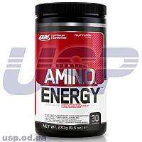 Optimum Nutrition Amino Energy БЦАА аминокислоты спортивное питание для восстановления мышц