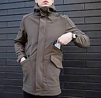 cca9c69eb97 Не промокаемая мужская куртка Soft Shell (Софт Шел) весна-осень