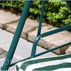 Качеля садовая Bonro 2-х местная зеленая, фото 2