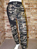 Спортивные штаны для мальчика на 5-8 лет защитного цвета оптом, фото 1