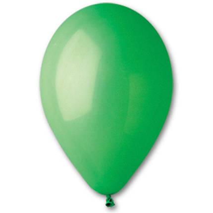 """Латексные шары круглые без рисунка 5"""" 13см Пастель зеленый """"GEMAR"""" Италия, фото 2"""