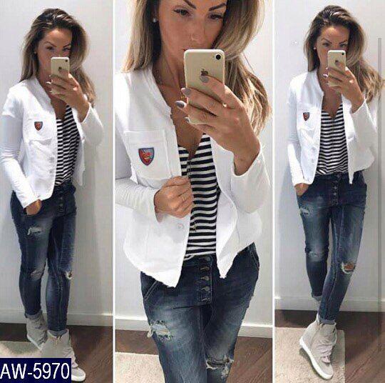 Пиджак женский белый и серый. Ткань двухнитка, размеры  смл