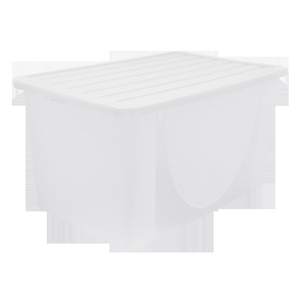 Емкость для хранения вещей с крышкой 6л