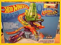 """Трек  Hot Wheels """" Научная лаборатория """"Взрыв цвета""""серии"""" Измени цвет"""