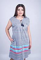6c9c28f3c1128 Ситцевые халаты оптом в Украине. Сравнить цены, купить ...