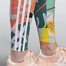 Женские лосины adidas Tropicalage 3-Stripes Tights FH8001  , фото 2
