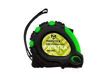 Рулетка строительная с прорезиненным корпусом+фиксатор 5 м*25 мм MOZITEX ОПТ