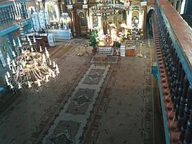 Монтаж теплої підлоги у церкві с.Підмихайля (Калуський р-н) 8