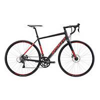 """Велосипед 28"""" Apollo GIRO 20 рама - X  matte black/red"""