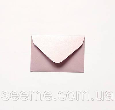 Конверт 93х64 мм, цвет светло-лавандовый (soft lavender)