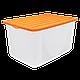Емкость для хранения вещей с крышкой 9,6л, фото 4