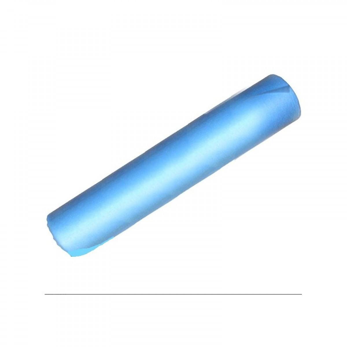 Простынь одноразовая темно-голубая 17-19 г/м2 ширина 800мм