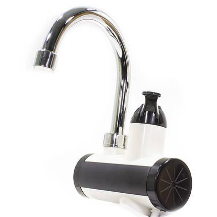 ☛Водонагреватель GZU ZM-D16 Кран + душ для мгновенного электрического нагрева воды 3000 Вт с LCD дисплеем, фото 2
