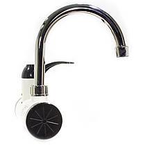 ☛Водонагреватель GZU ZM-D16 Кран + душ для мгновенного электрического нагрева воды 3000 Вт с LCD дисплеем, фото 3