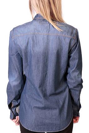 Сорочка жіноча джинс Widoc 965 5 no, фото 2