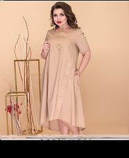 Сукня жіноча літнє, розмір:52-60, фото 3