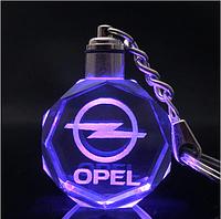 Брелок c подсветкой Opel