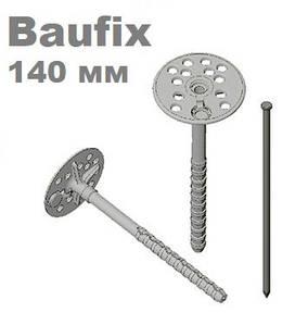 Дюбель 10х140 для крепления теплоизоляции с металлическим гвоздем FAST FIX