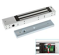 Накладной электромагнитный замок + планка LED 12 В до 280 кг