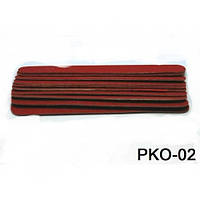 Пилочка одноразовая красная 11.5 см PKO-02 YRE 10 штук