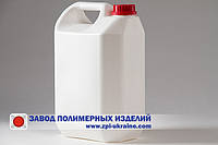 Канистра пластиковая 5 литров Классика