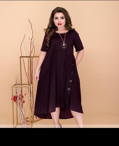 Сукня жіноча літнє, розмір:52-60, фото 2
