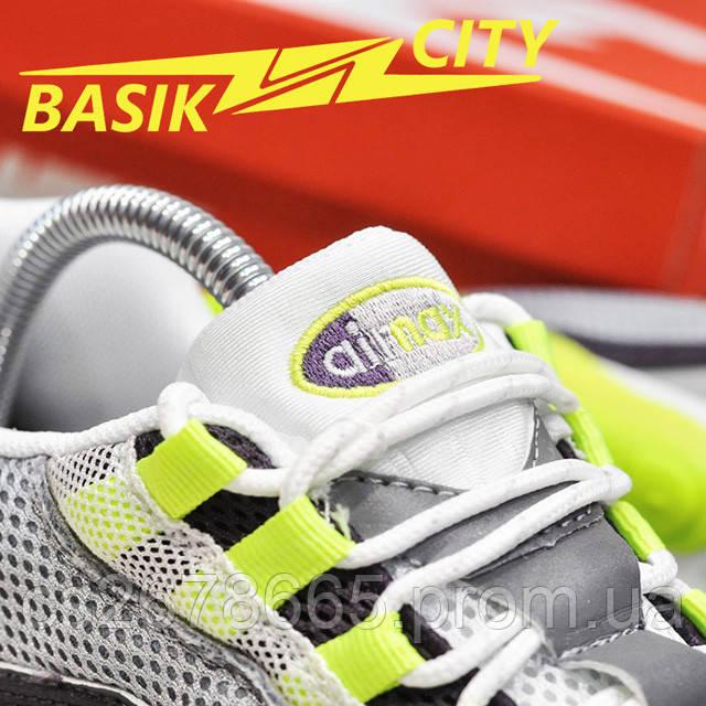 Мужские кроссовки Nike Air Max Hybrid 270-97 Gray Lime фото описания 9