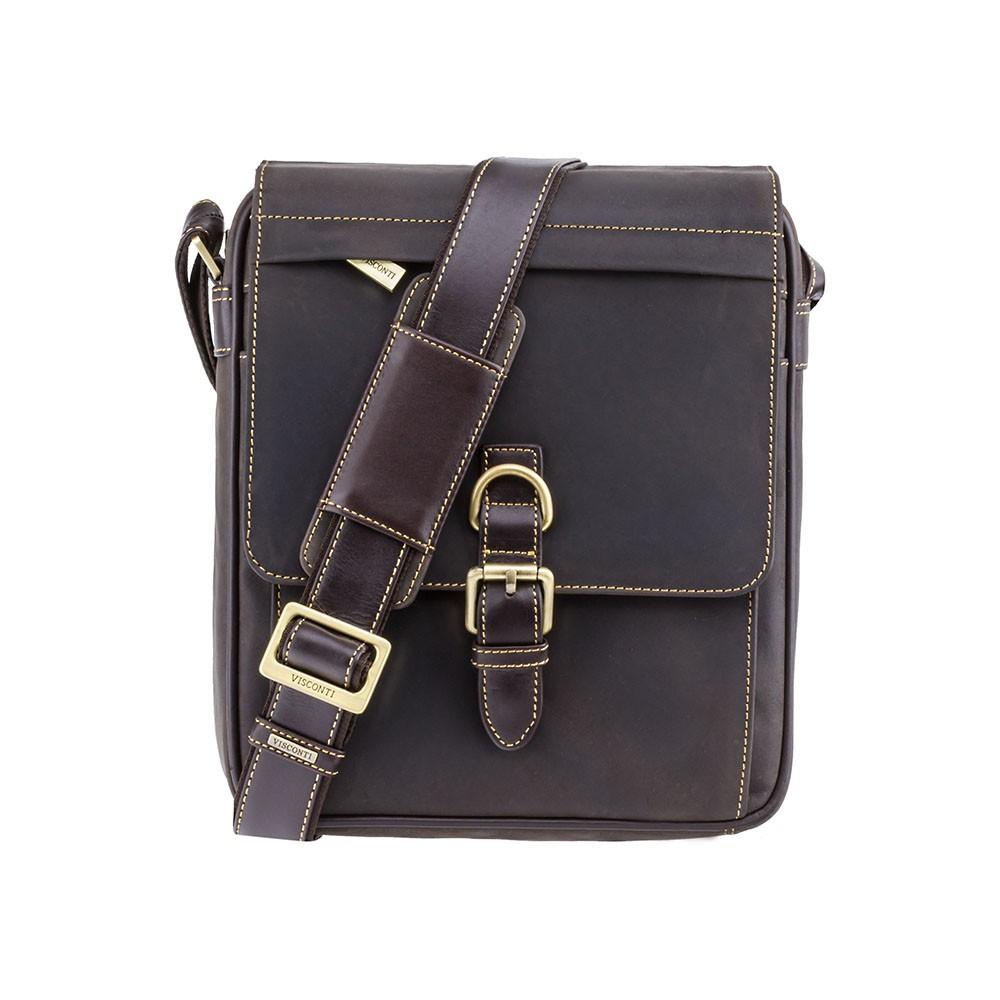 Кожаная сумка Visconti 16011 oil brown (Великобритания)