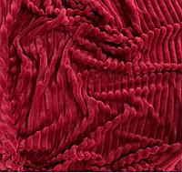 Плюшевый чехол на кушетку 76 см на 200 см - спелая вишня (шарпей), фото 1
