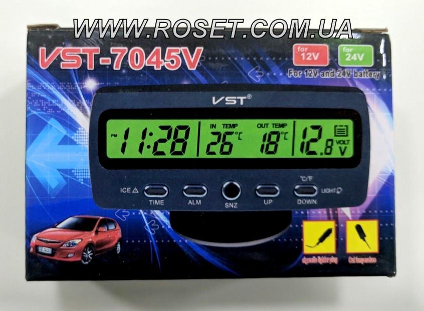 Цифровые часы для автомобиля VST 7045V