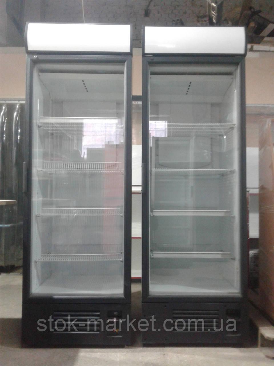 Холодильный шкаф Интер 390 л.б у.  холодильник б/у., фото 1