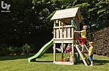 Детский деревянный спортивный комплекс Blue Rabbit KIOSK + SWING, фото 2