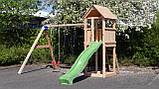 Детский деревянный спортивный комплекс Blue Rabbit KIOSK + SWING, фото 3