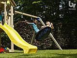Детский деревянный спортивный комплекс Blue Rabbit KIOSK + SWING, фото 4