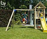 Детский деревянный спортивный комплекс Blue Rabbit KIOSK + SWING, фото 7