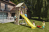 Спорткомплекс деревянный для детей на дачу Blue Rabbit BELVEDERE + SWING, фото 2