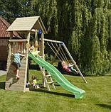 Спорткомплекс деревянный для детей на дачу Blue Rabbit BELVEDERE + SWING, фото 7