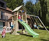 Спорткомплекс деревянный для детей на дачу Blue Rabbit BELVEDERE + SWING, фото 10