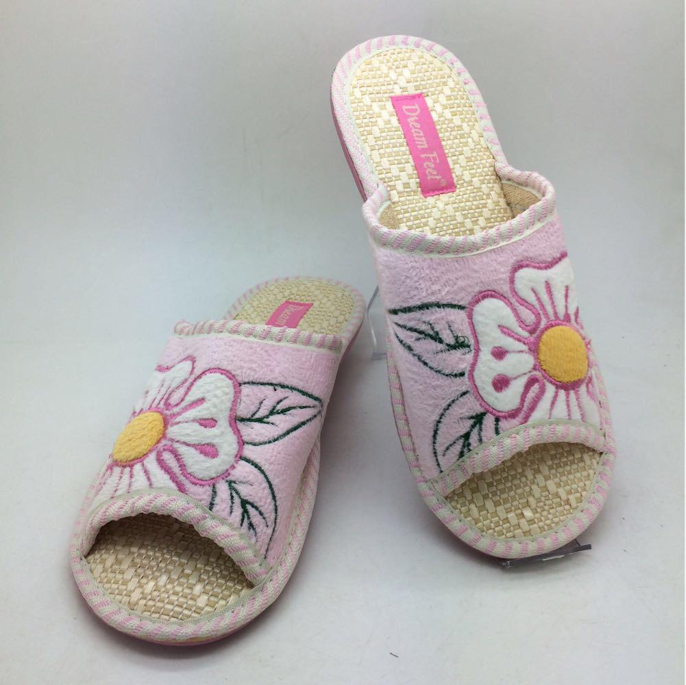 0c4229be6b7d0 Тапочки для гостей. Распродажа: Розовые женские Тапочки с открытым носком