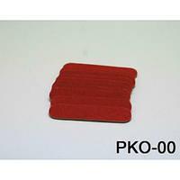 Пилочка одноразовая красная 4.7 см PKO-00 YRE 10 штук