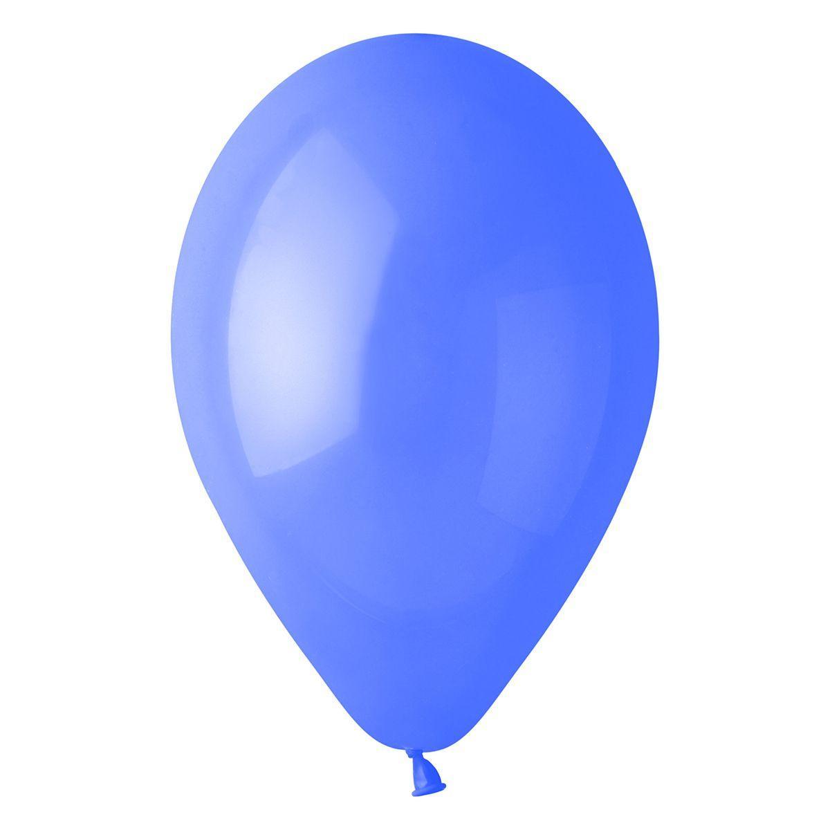 """Латексные шары круглые без рисунка 5"""" 13см Пастель барвинок """"GEMAR"""" Италия"""