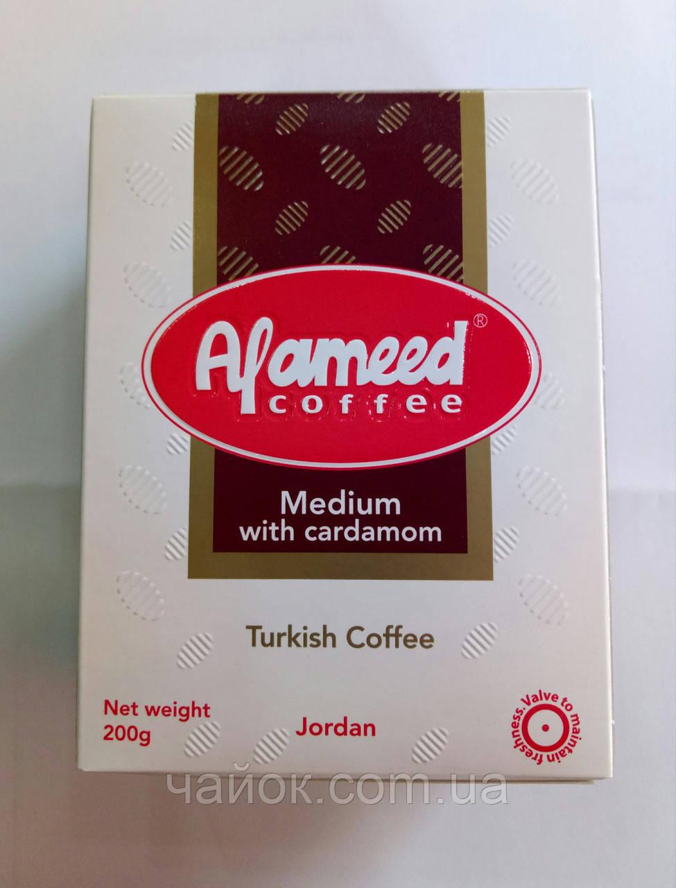Кофе Alameed 200 грамм молотый с кардамоном средней обжарки