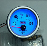 Указатель температуры воды стрелочный Ket Gauge 7702 LED диодный Ø52мм прибор датчик автомобильный